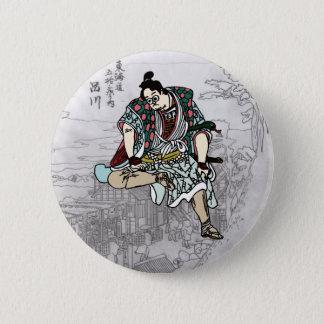 YBsamurai can batsuji 2 Inch Round Button