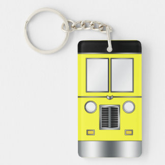 Ye Old Bus (Customizable color) Keychain