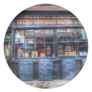Ye Old Shambles Tavern York Plate