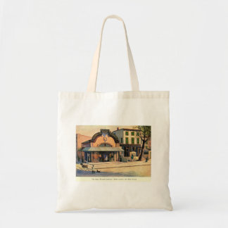 Ye Olde Willow Cottage, Fifth Ave, NYC Vintage Tote Bag