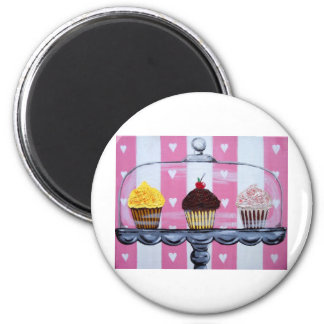 yea! cupcakes! magnet
