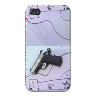 Yeah, I shoot like a girl! Iphone Case.. Cover For iPhone 4
