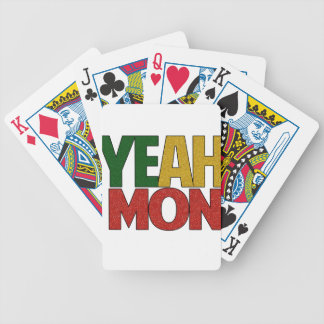 Yeah Mon Jamaican Vacation Bicycle Playing Cards