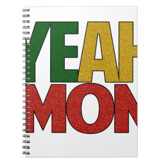 Yeah Mon Jamaican Vacation Note Book