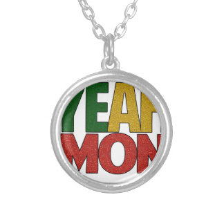 Yeah Mon Jamaican Vacation Silver Plated Necklace
