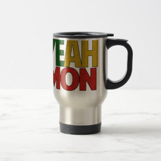 Yeah Mon Jamaican Vacation Travel Mug
