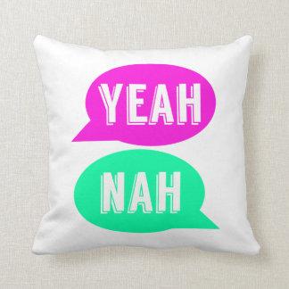 Yeah Nah Cushion - NZ