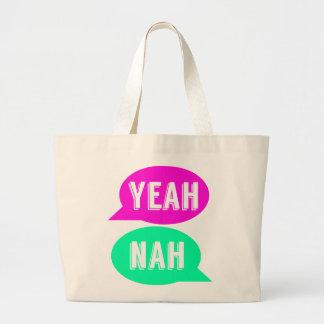 Yeah Nah Statement Tote Bag