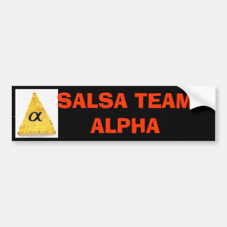 yeah, , SALSA TEAM  Bumper Sticker