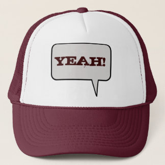 Yeah Speech Bubble Hat