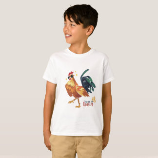 Year of Rooster, Chinese Character, Kids, T-Shirt