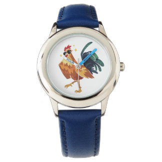 Year of Rooster, Stainless Steel Kids Watch