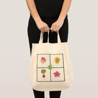 Year of the Beet grocery tote
