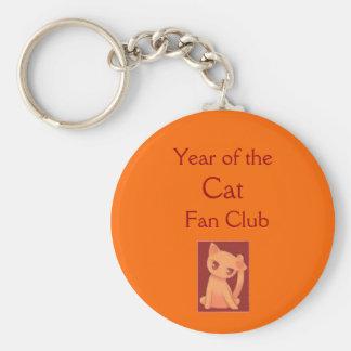 Year of the Cat Fan Club Keychain