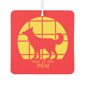 Year of the Dog Air Freshener