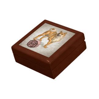 Year of the Dog - Chinese Zodiac Art Gift Box