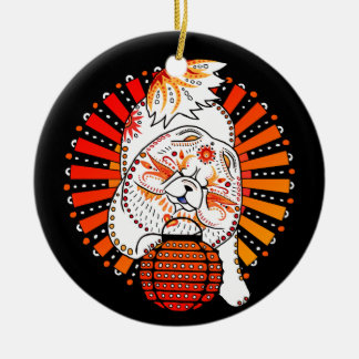YEAR OF THE DOG - MI TANG - Chow holiday ornament