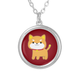 Year of the Dog Silver Plated Necklace