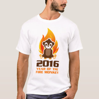 Year of the Fire Monkey T shirt