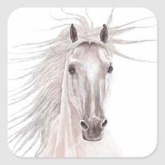 Year of the Horse 2014 Square Sticker