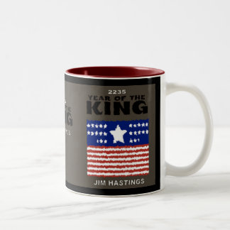 YEAR OF THE KING Two-Tone COFFEE MUG