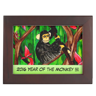 Year of the Monkey keepsake box