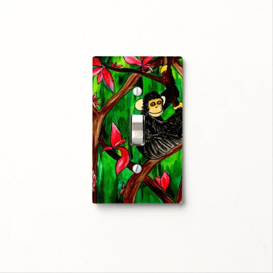 Year of the Monkey light switch cover