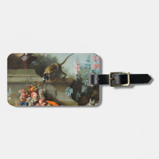 Year of the Monkey Rococo Painting Tag For Bags