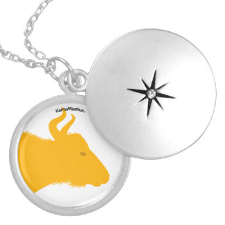 Year of the Ox (Buffalo) Locket Necklace