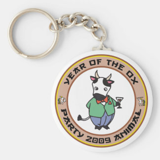 Year of The Ox Gift Keychain