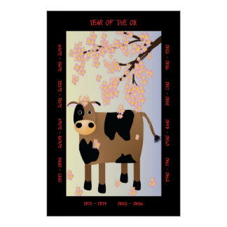 Year of the Ox Poster