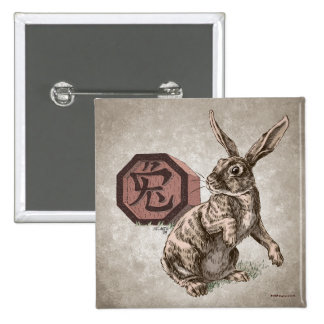 Year of the Rabbit Chinese Zodiac Astrology Pins