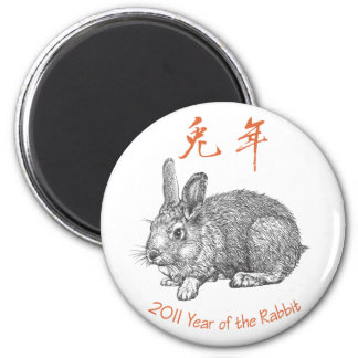 Year of the Rabbit _Magnet Magnet
