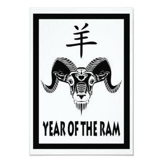 year of the ram (wildRam) Card