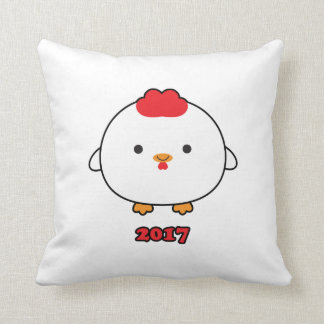 Year of the Rooster 2017 Throw Pillow