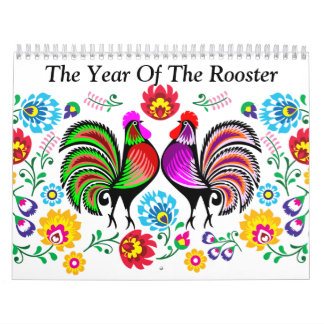 Year Of The Rooster Calendar