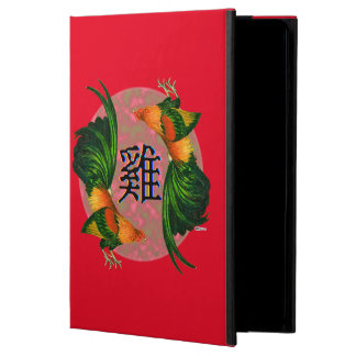 Year of the Rooster Circle iPad Air Cover