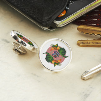 Year of the Rooster Circle Lapel Pin