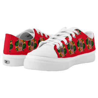 Year of the Rooster Circle Low-Top Sneakers