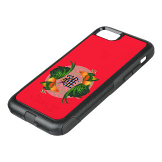 Year of the Rooster Circle OtterBox Commuter iPhone 8/7 Case