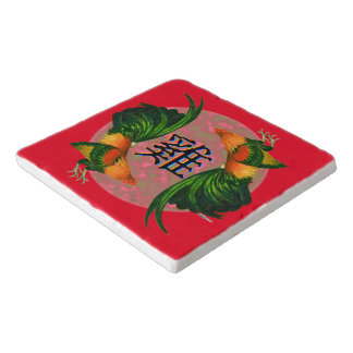 Year of the Rooster Circle Trivet