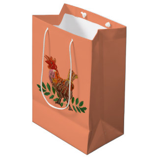 Year of the Rooster Medium Gift Bag