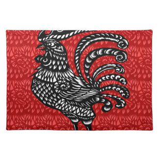 Year of the rooster placemat