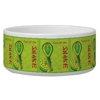 Year of the Snake Dog Water Bowl