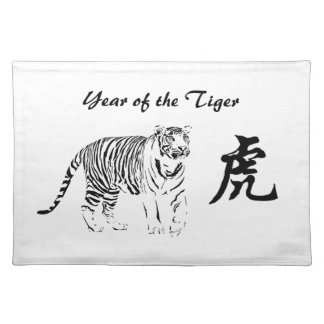 Year of the Tiger - Placemat