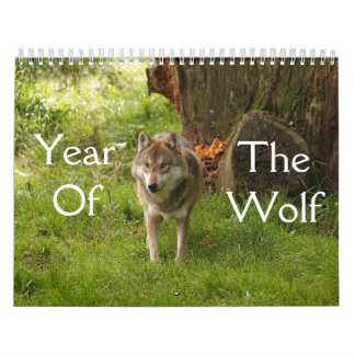 Year of the Wolf Calendar