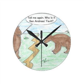 Year Older Round Clock