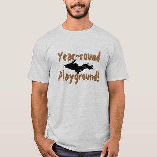 """""""Year-round Playground"""" Upper Peninsula t-shirt"""