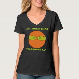 Year Round Tan Tee Shirt