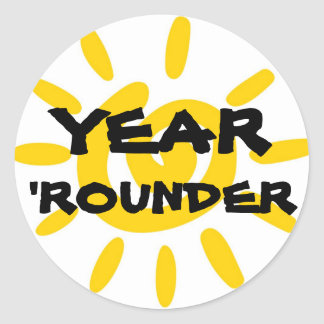 YEAR 'ROUNDER STICKER